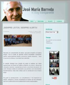 El blog de José María Barreda.