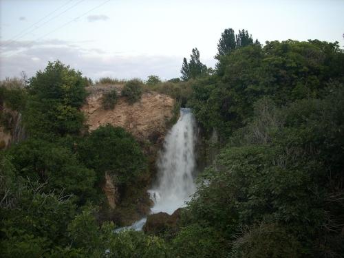 El Hundimiento, en Ruidera (Ciudad Real). Agosto de 2009