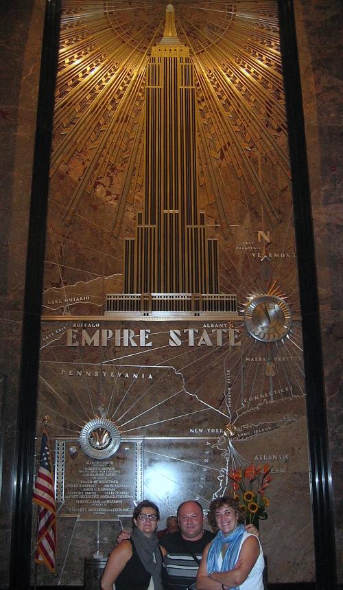 En el Empire, después de rozar el cielo.